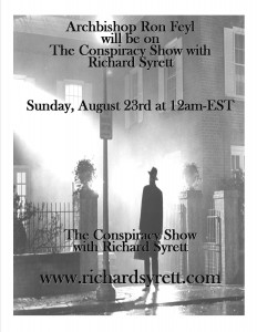 8-7-15 RADIO SHOW The Conspiracy Show
